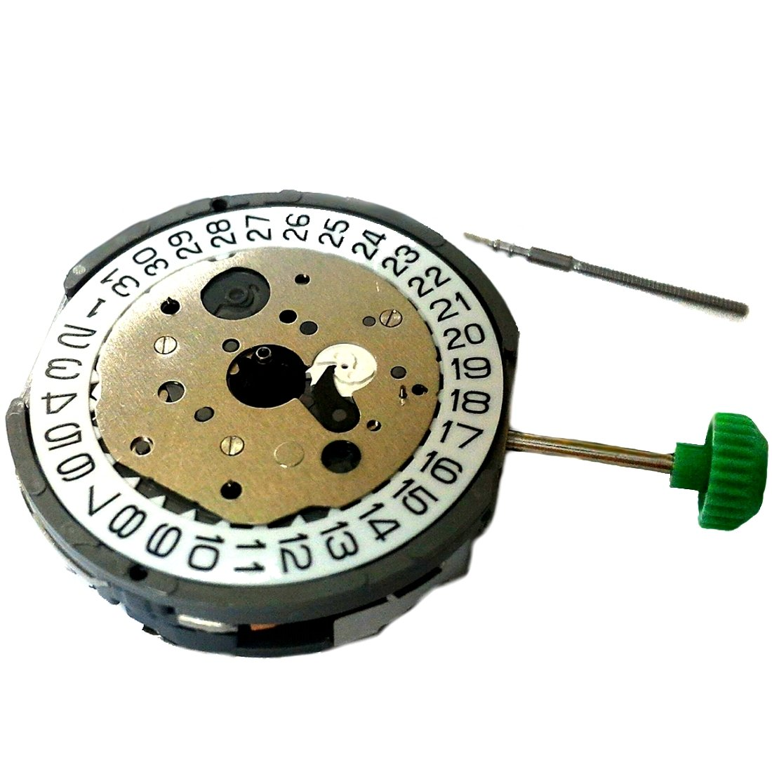 MIYOTA FS60 OOA 3 EYES. Chronograph Slanted Quartz Watch Movement