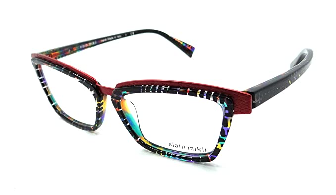 Amazon.com: Alain Mikli Rx Eyeglasses Frames A02015 B0F3 53-15-140 ...