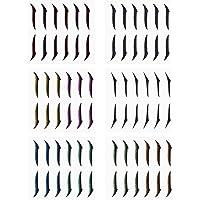 Adesivos reutilizáveis de eyeliner, eyeliner Stickers Eye Line Strip Stickers 36 pares de autocolantes auto-adesivos…