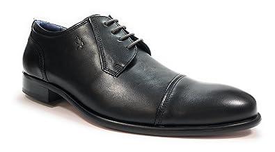 Fluchos 9028 Noir - Chaussures Chaussure-Ville