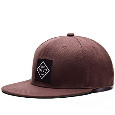 a38262fa9f7 Vintage Cool Flat Bill Baseball Cap Women Men Trucker Hat Outdoor Hip-Hop  Caps Coffee