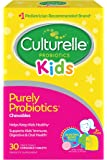 Culturelle Kids Chewables Daily Probiotic Formula, One Per Day Dietary Supplement, Contains 100% Naturally Sourced Lactobacillus GG 傍he Most Clinically Studied Probiotic, 30 Count(Package may vary)