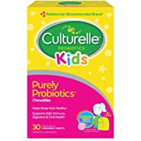 Culturelle Kids Chewable Daily Probiotic for Kids -Natural Berry– Supports Immune...