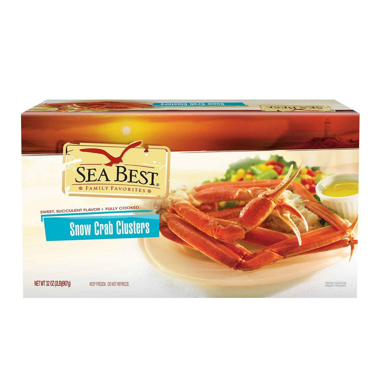 amazon com sea best snow crab clusters 2 pound coffee