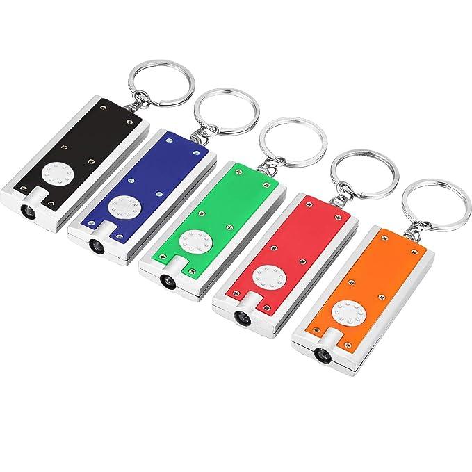 Amazon.com: 30 piezas Mini Linternas LED Llavero Portátil ...