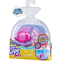 Little Live- Little Dippers- Dip Your Fish into Water and Watch him Swim! Includes a Magnetic Feeder, That Your Fish…