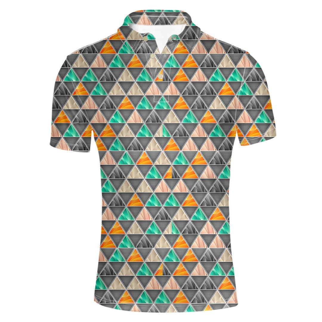 Qeiubgesf Yellow Summer Fitness Men Shirt Short Sleeve Clothes Male Jerseys