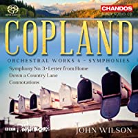 Copland: Orchestral Works 4 [BBC Philharmonic; John Wilson] [Chandos: CHSA 5222]