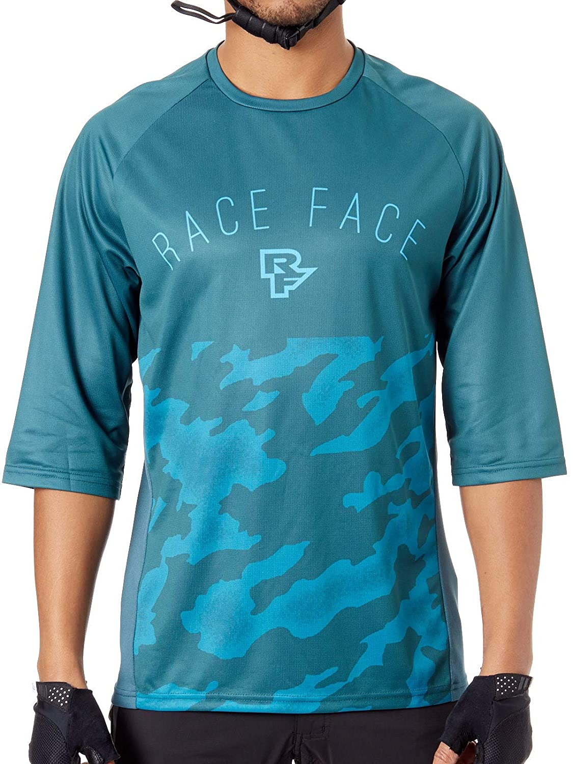 Race Face Downhill-Jersey Ambush Blau Gr. L
