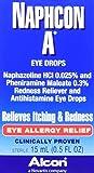 Alcon Naphcon-A Allergy Relief Eye Drops, 0.5-Ounce Bottles