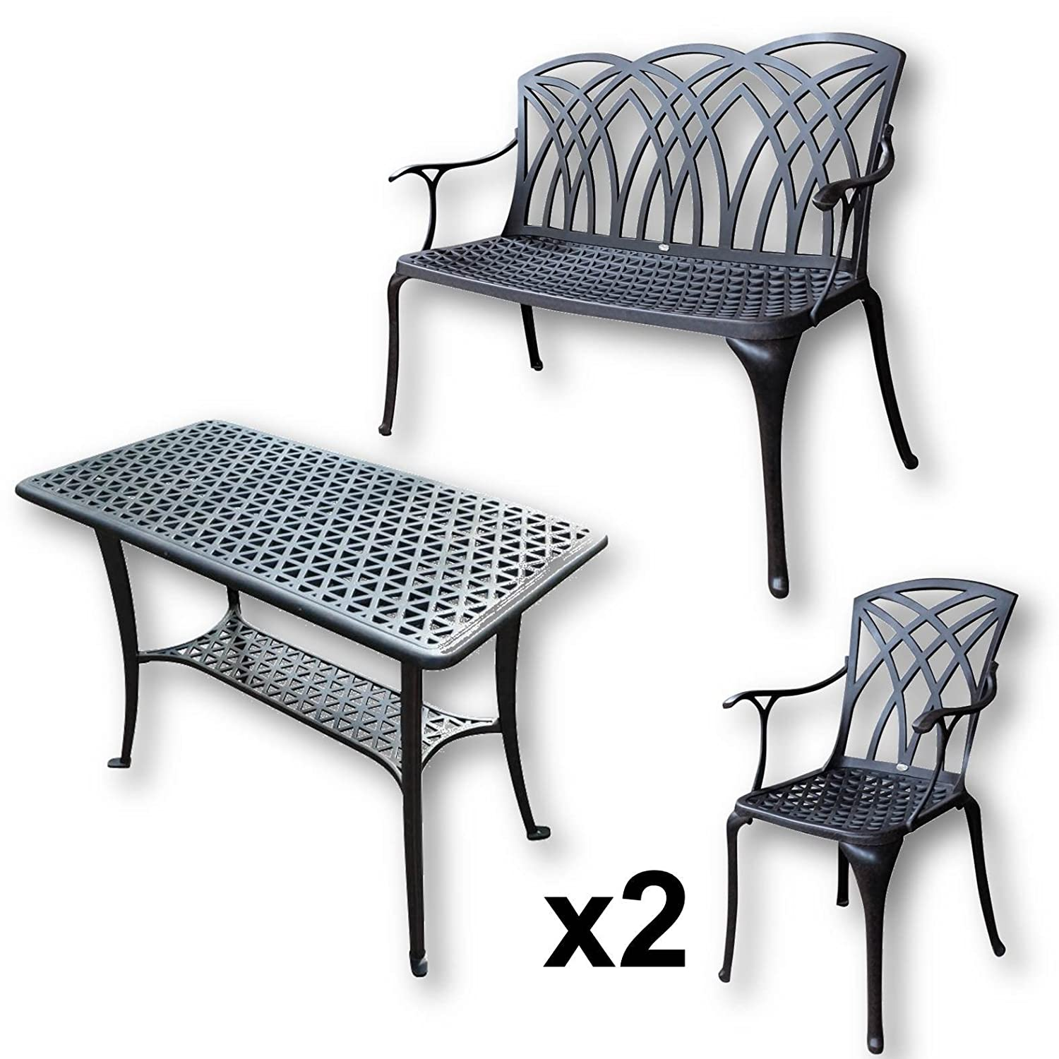Fantastic Lazy Susan Furniture Bbq Side Table 1 April Bench And 2 Machost Co Dining Chair Design Ideas Machostcouk