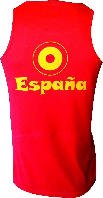 ESPAÑA Camiseta EKEKO INCREIBLE Ñ, Atletismo, Running y Deportes en General (XXL, Tirantes): Amazon.es: Deportes y aire libre