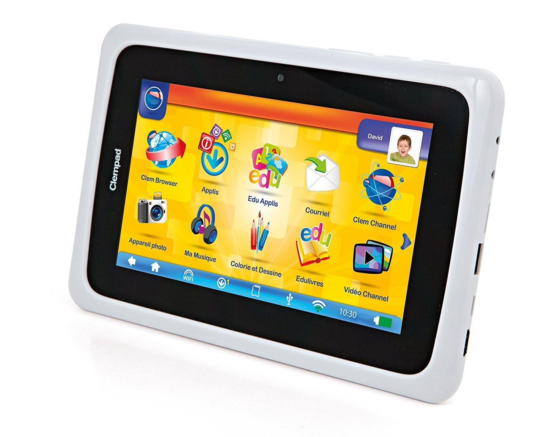 """Clementoni - 67056- Tablette Enfant Clempad Plus 7"""""""