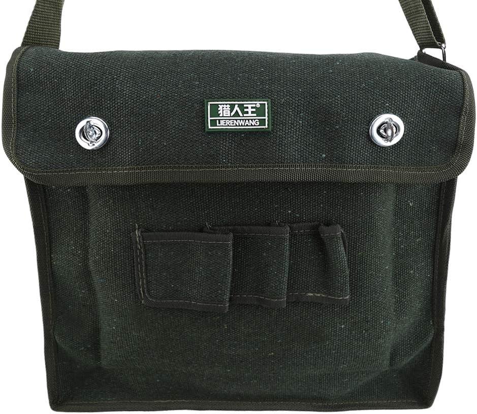 Jixing Wide Mouth Canvas Werkzeugtasche Professional Power Tool Organizer Schulter Messenger Bag Mutifunction Techniker Tasche,Stil 4