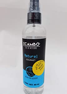 Xcambo Mayan Gourmet Low Sodium Liquid Salt Spray (Natural Sea Salt) for Drinks, Finishing Dishes, and Enhancing Flavor