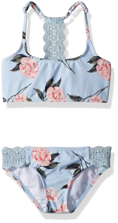 8422860a90 Billabong Girls' Petal Daze Trilet Two Piece Swimsuit Set