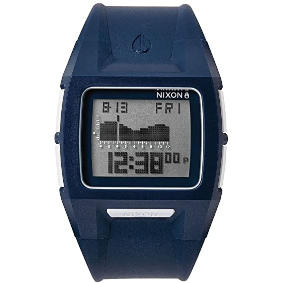 Nixon Lodown II digital Dial Azul Poliuretano a289307 - Reloj de hombre: Nixon: Amazon.es: Relojes