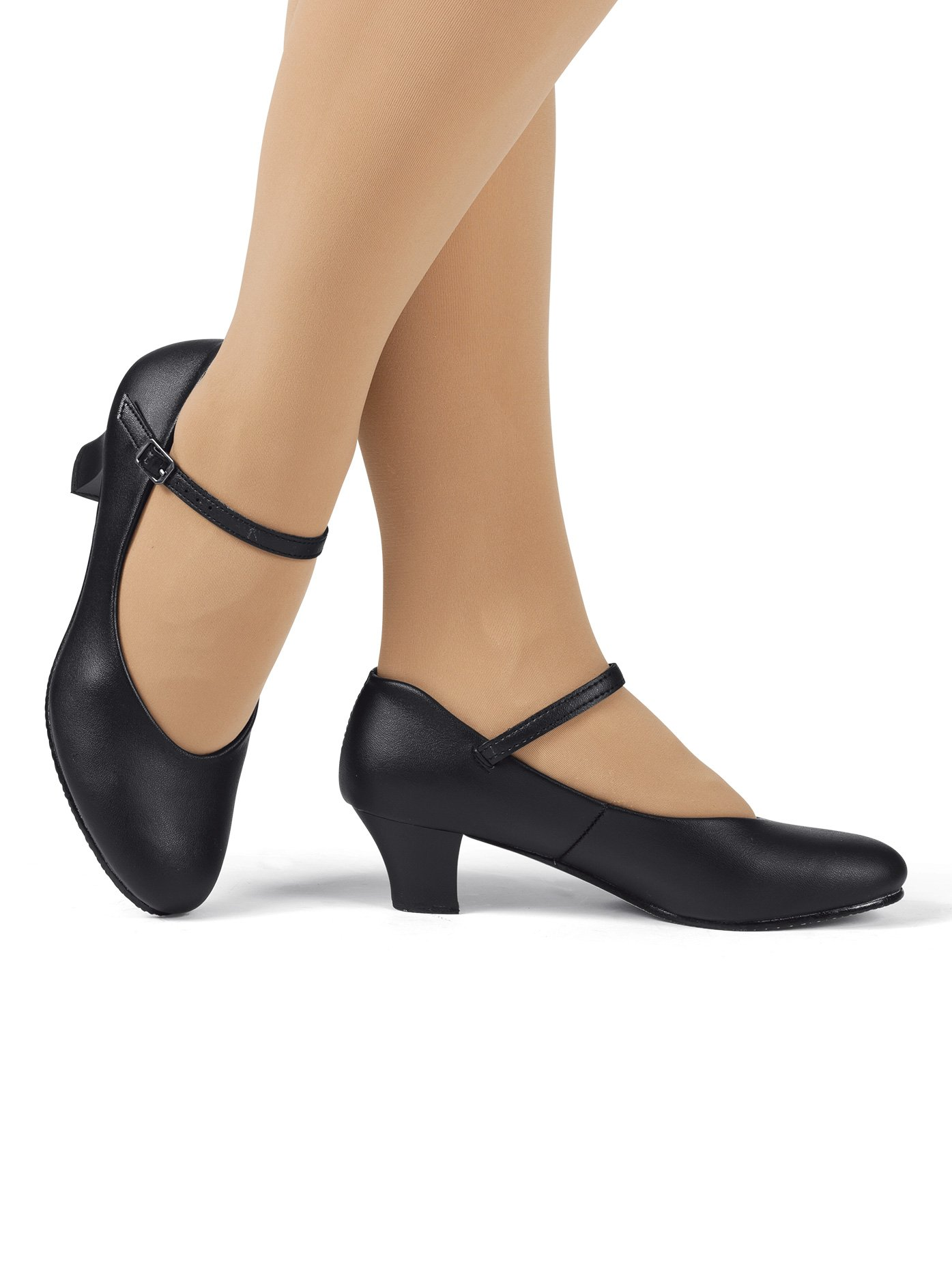 Adult 2'' Heel Character Shoes,T3200BLK07.5,Black,07.5