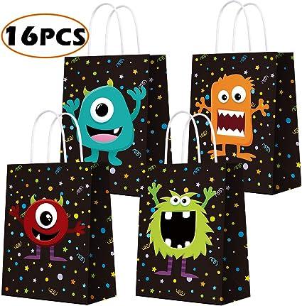 Amazon.com: Titiyogo Bolsas de papel kraft con temática de ...