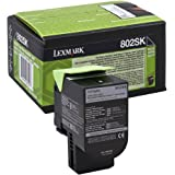 Lexmark 80C2SK0 Standard Capacity Toner Cartridge, schwarz
