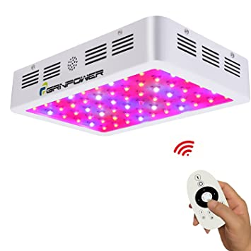 600W LED Grow Light-Remote Control and Timing-Full Spectrum Double Chips LED Plant  sc 1 st  Amazon.com & Amazon.com : 600W LED Grow Light-Remote Control and Timing-Full ...