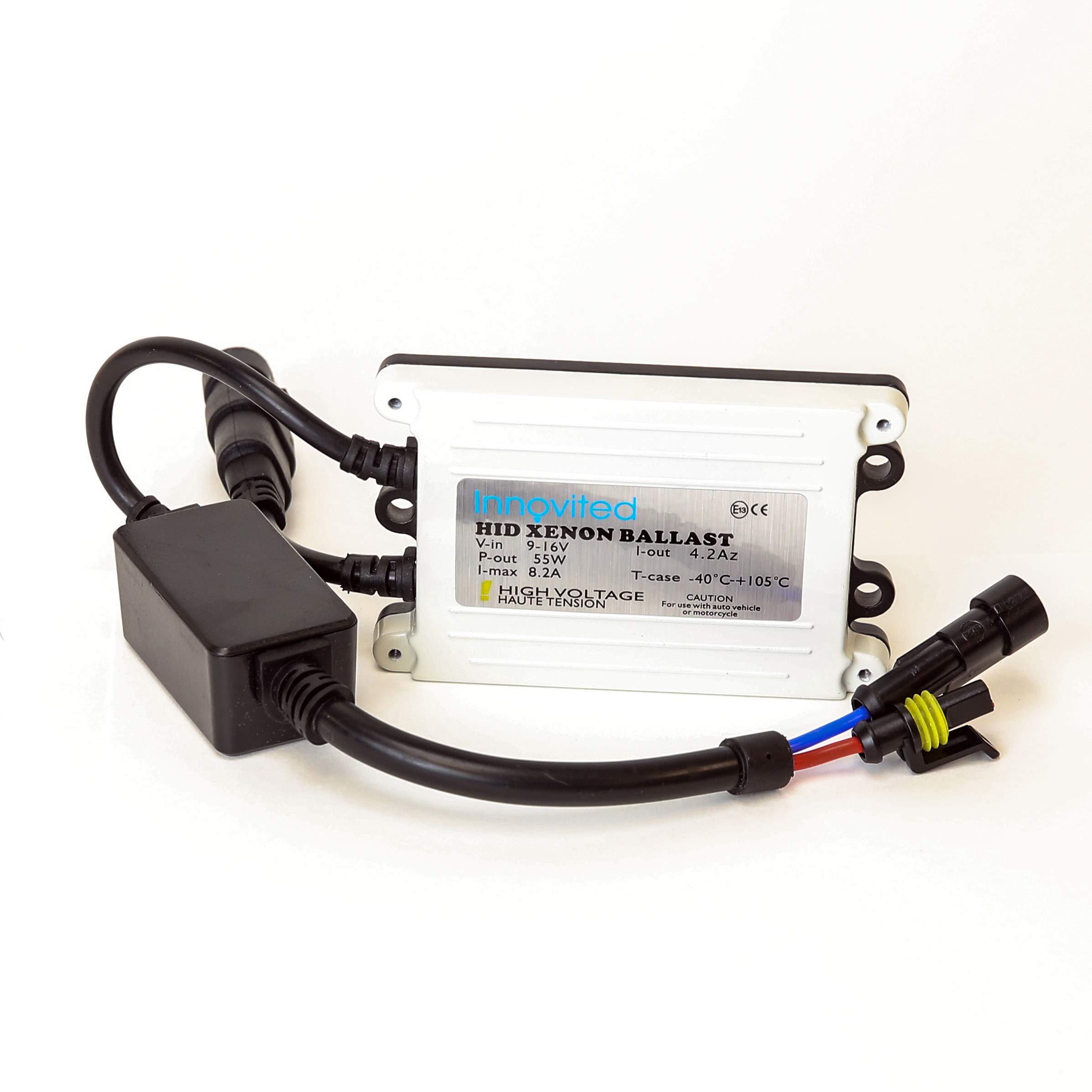 Amazon com: Innovited 55w Ac HID Slim Digital Ballast for H1