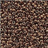 Toho Round Seed Beads 11/0 #221 'Bronze' 8 Gram Tube