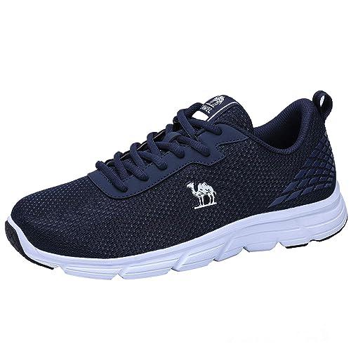 CAMEL CROWN Zapatillas de Deporte Zapatillas para Hombre Aire Libre y Deporte Zapatos Gimnasio Correr Sneakers: Amazon.es: Zapatos y complementos