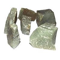 Crocon verde giada Bulk grezzi naturali di pietra preziosa Rough cristalli per la guarigione Tumbling Cabbing lucidatura