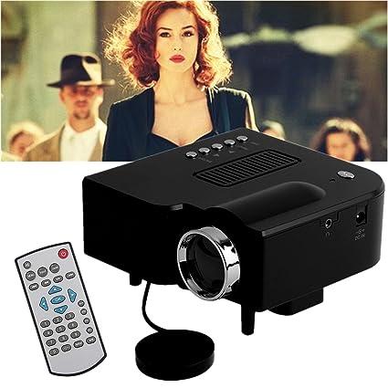 leshp Mini UC28 + proyector cine en casa proyector LED HD 1080P AV ...