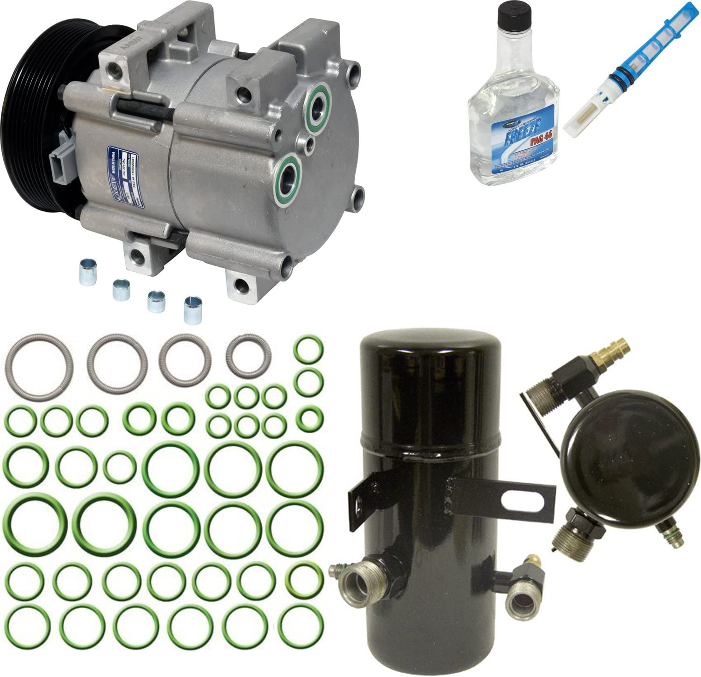 A//C Compressor /& Component Kit-Compressor Replacement Kit UAC KT 4131