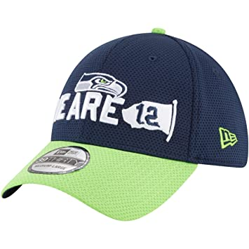 New Era 39Thirty Cap - NFL 2018 DRAFT Seattle Seahawks  Amazon.co.uk ... 78fceef55