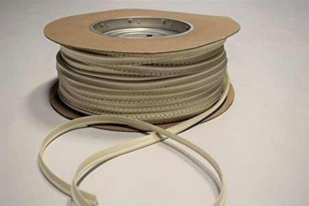 Off White Marine Vinyl Welt Cord Piping Outdoor Automotive Upholstery Fabric BTY