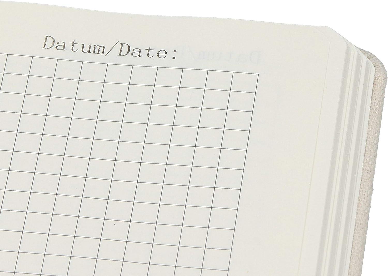 DIN A4 Baumwoll Notizbuch Eule Liebe mit Spruch Adressbuch Panda Eintragebuch /& Mrs Mr Farbe Transparent