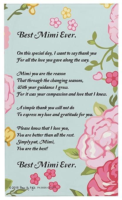 Amazon mimi gifts best mimi ever mimi poem decorative plaque mimi gifts best mimi ever mimi poem decorative plaque glass plaque m4hsunfo