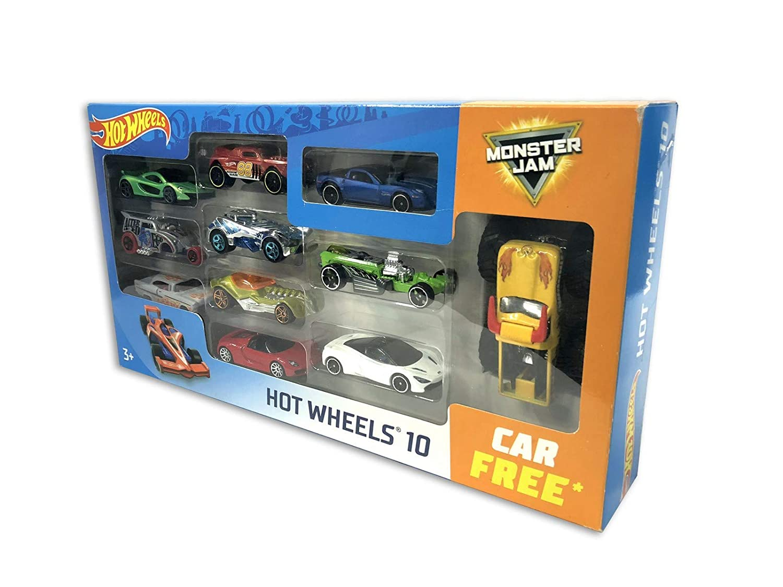 Buy Hot Wheels 10 Car Gift Pack