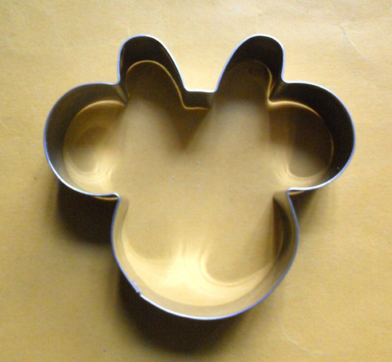 para Hornear Galletas Fal Minnie Mouse de Acero Cortador de la ...