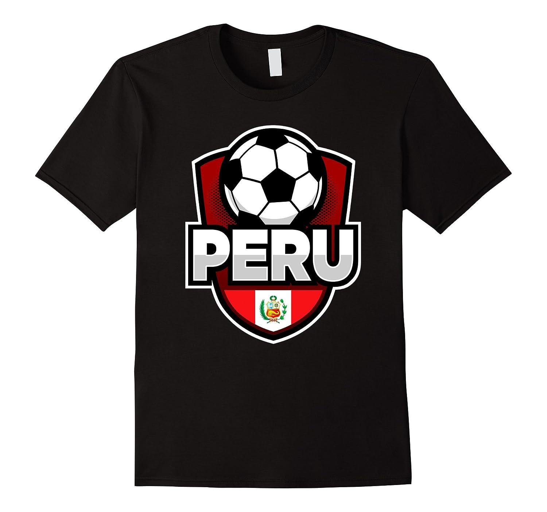 Top Peru Soccer T-shirt For Arriba Peru Russia 2018   Lodetee ...