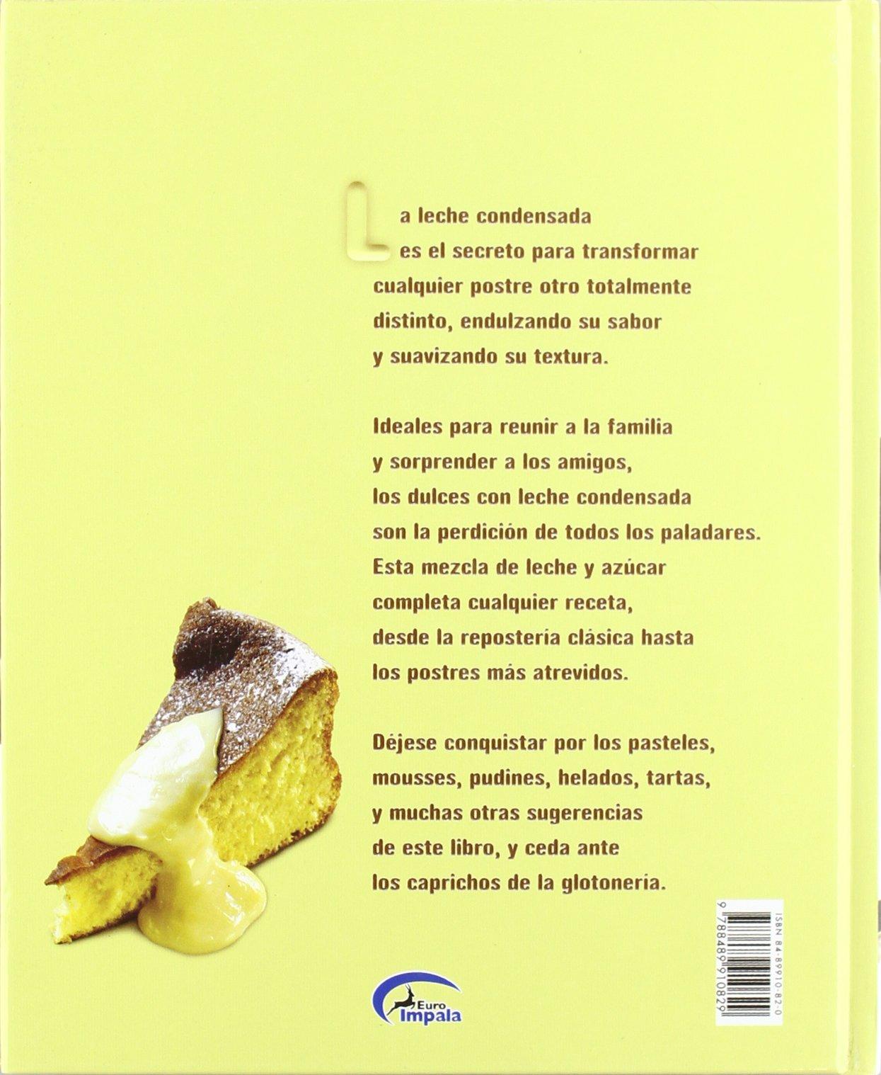 Mejores recetas con leche condensada, las: Amazon.es: Aa.Vv.: Libros