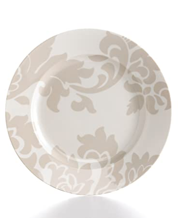 Martha Stewart Collection Dinnerware Barcelona Grey Dinner Plate  sc 1 st  Amazon.com & Amazon.com | Martha Stewart Collection Dinnerware Barcelona Grey ...