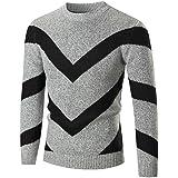 VENMO Herren Herbst Winter Pullover Slim fit Jumper Strickwaren Outwear  Bluse Strickpullover Multicolorstrick DüNnen Strickware Kapuzenjacke c2f14b232d
