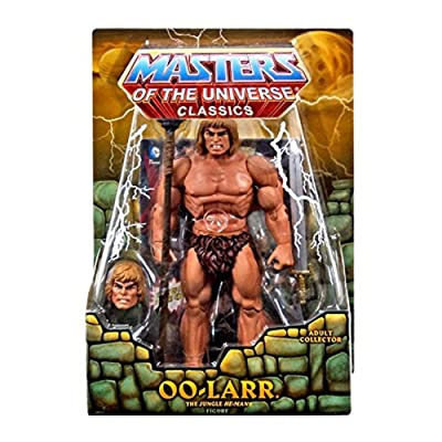 Masters of the Universe Classics OO-Larr Action Figure [The Jungle He-Man]: Toys & Games