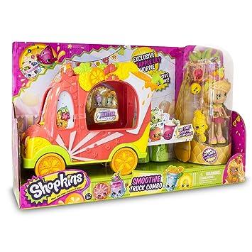 Shopkins - Camion de los Smoothies con una muñeca (Giochi Preziosi HPK58000): Amazon.es: Juguetes y juegos
