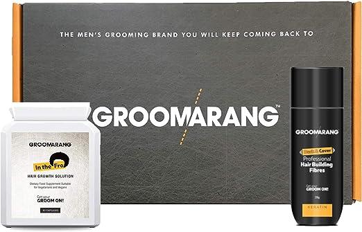 Kit de crecimiento cabello acelerado GROOMARANG - Kit de vitaminas ...