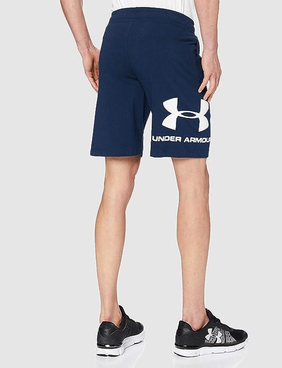 Under Armour Hombre Sportstyle Cotton Logo Shorts Pantal/ón Corto