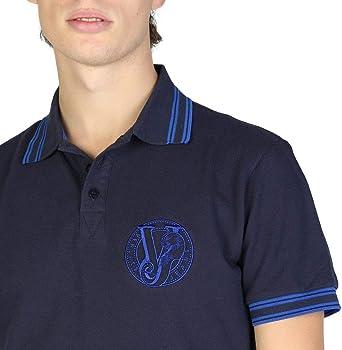 Versace Jeans Polo Hombre BLU: Amazon.es: Ropa y accesorios