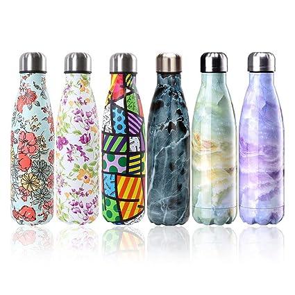KANKOO Botella de Agua para Deportes al Aire Libre con ...