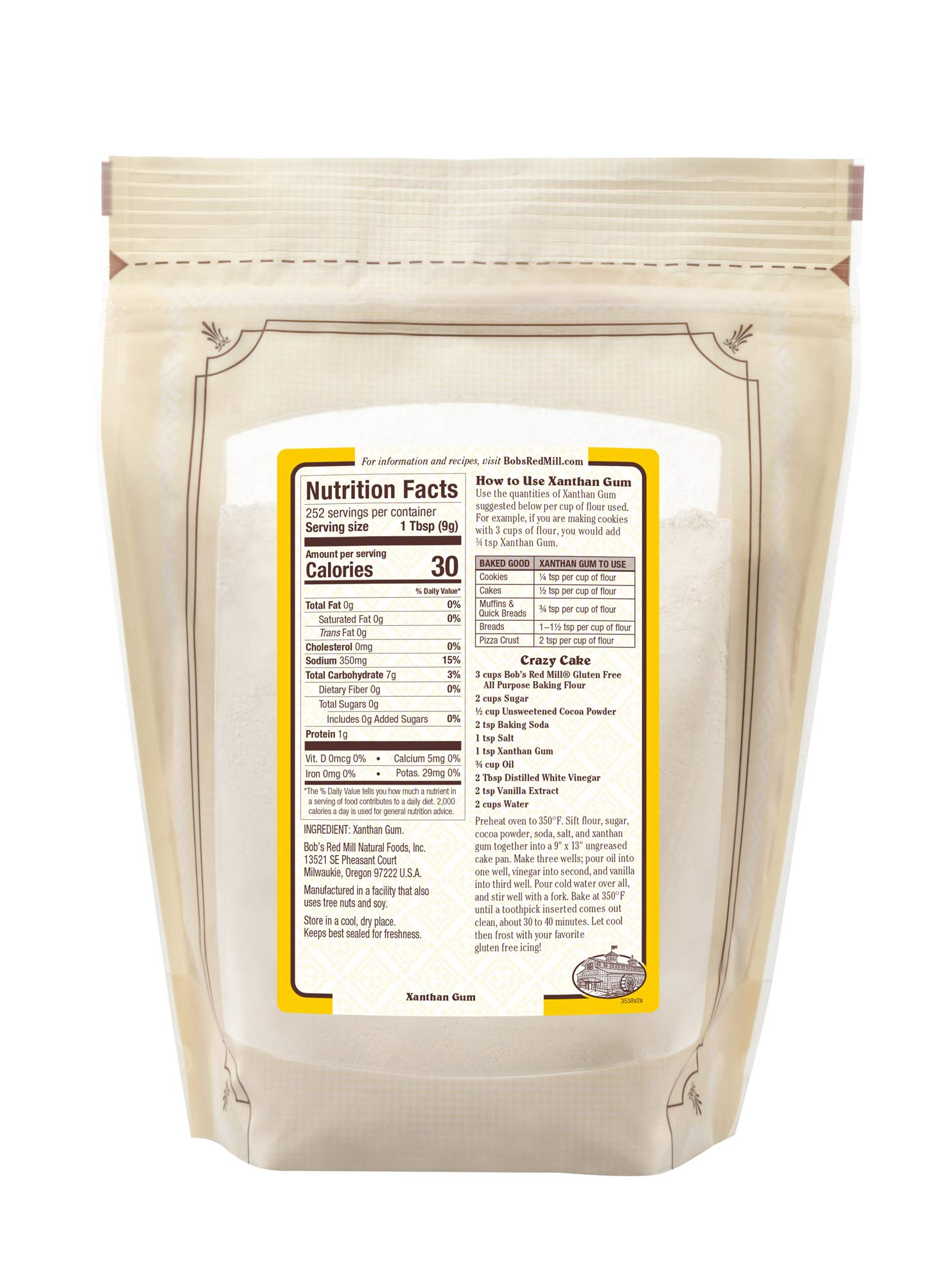Bob's Red Mill Gluten Free Xanthan Gum, 5 Pounds by Bob's Red Mill (Image #3)