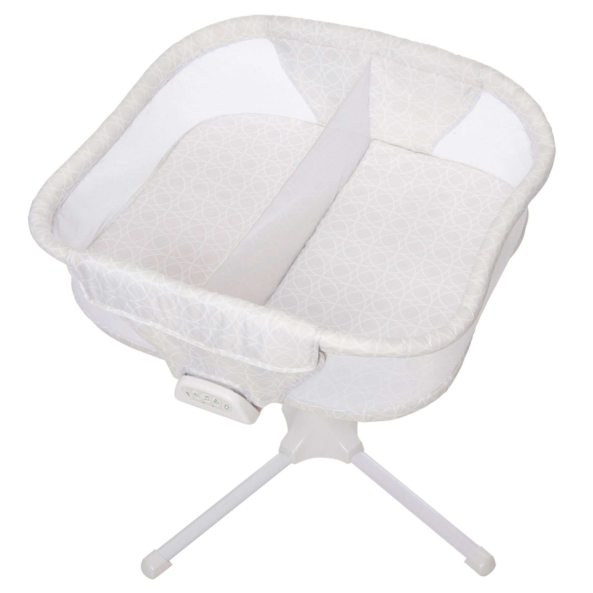 HALO Bassinest Twin Sleeper Double Bassinet - Premiere Series, Sand Circle by Halo
