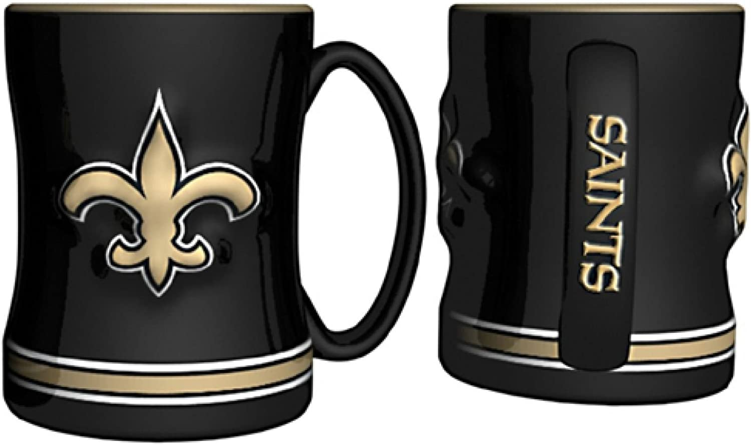 New Orleans Saints Sculpted Coffee Mug